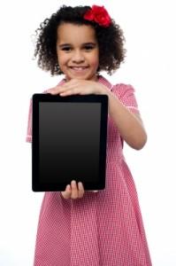 Cómo limpiar la pantalla de la Tablet de los gérmenes