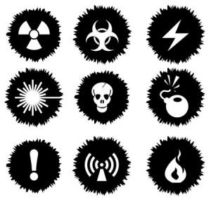 iconos que implican asesoramiento del almacenamiento de productos químicos