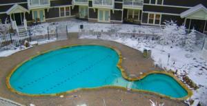 como conservar la piscina en invierno