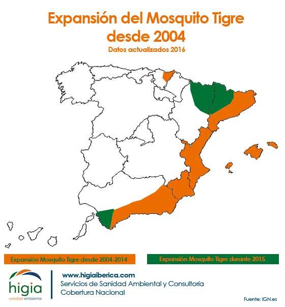expansion mosquito tigre españa