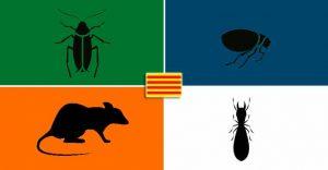 plagas más numerosas de Cataluña