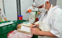 Número de visitas del inspector de sanidad alimentaria